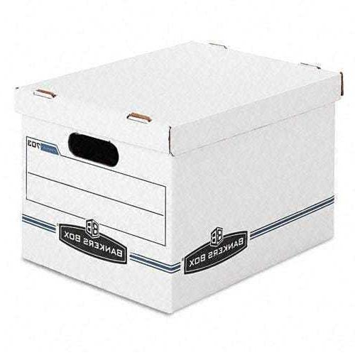 Bankers Box - Stor/File Storage Box Letter/Legal Lift-Off Li
