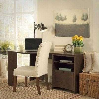 Bush Furniture Buena Vista 60W Corner Desk with Storage in M