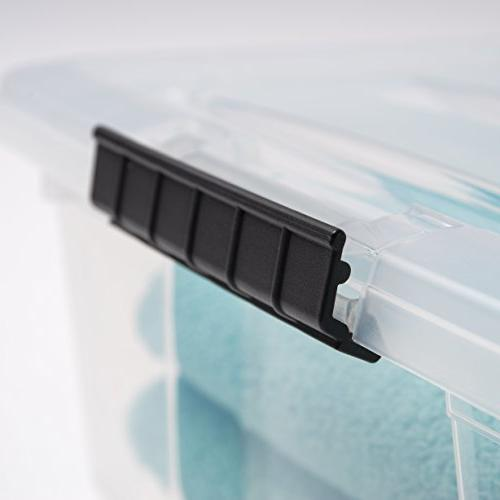 IRIS Inc. Stackable Clear Storage 10