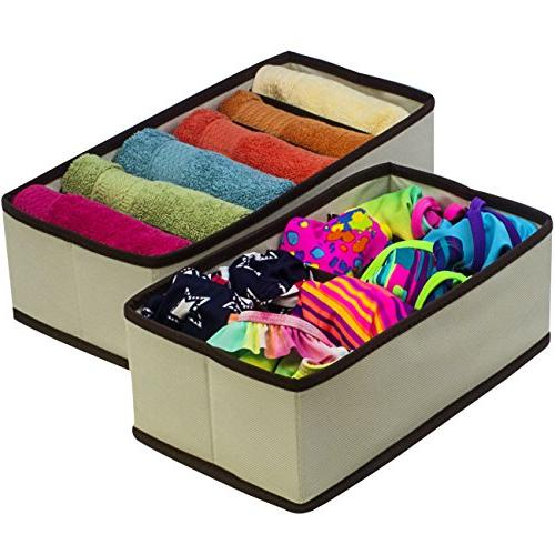 Sorbus Set of Boxes, Organizers, Bed Organizer