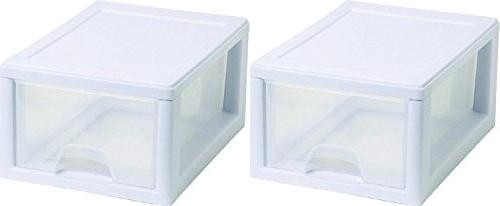 Sterilite 20518006 Stackable Storage Drawer