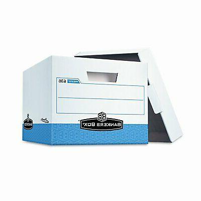Wholesale CASE of 5 - Fellowes Presto Storage Boxes w/ Locki