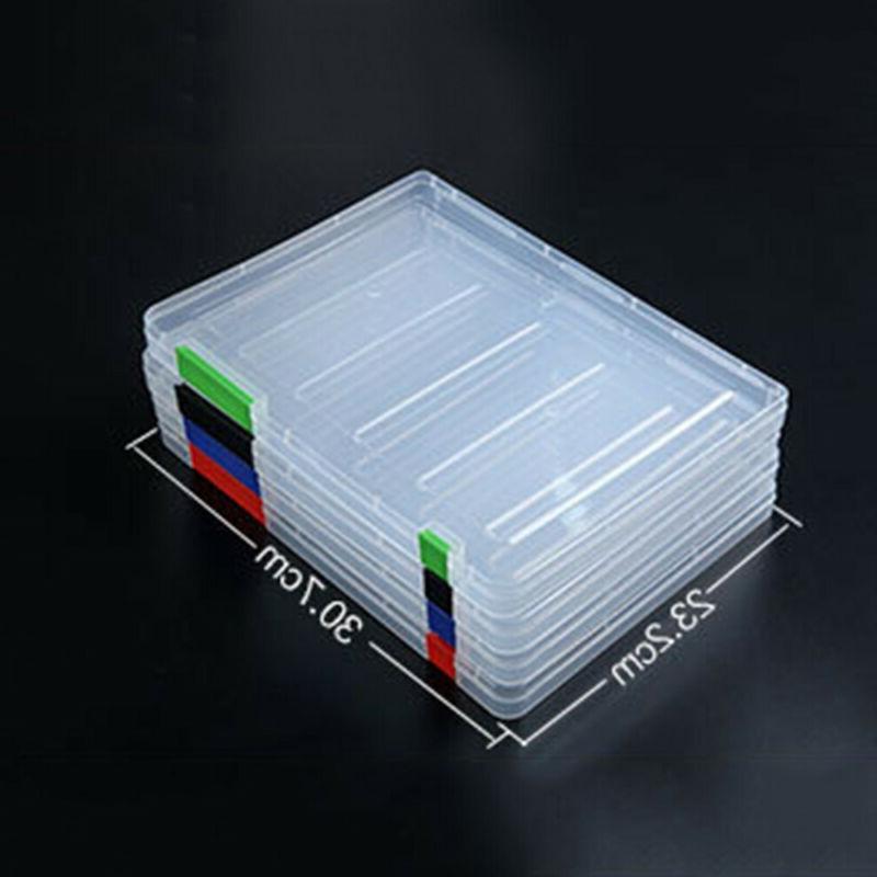 A4 School Paper Storage Plastic