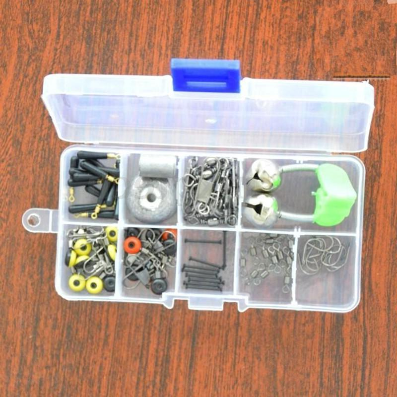 Adjustable 10 Compartment Plastic Storage Box Case Jewelry Bead Tackle Container
