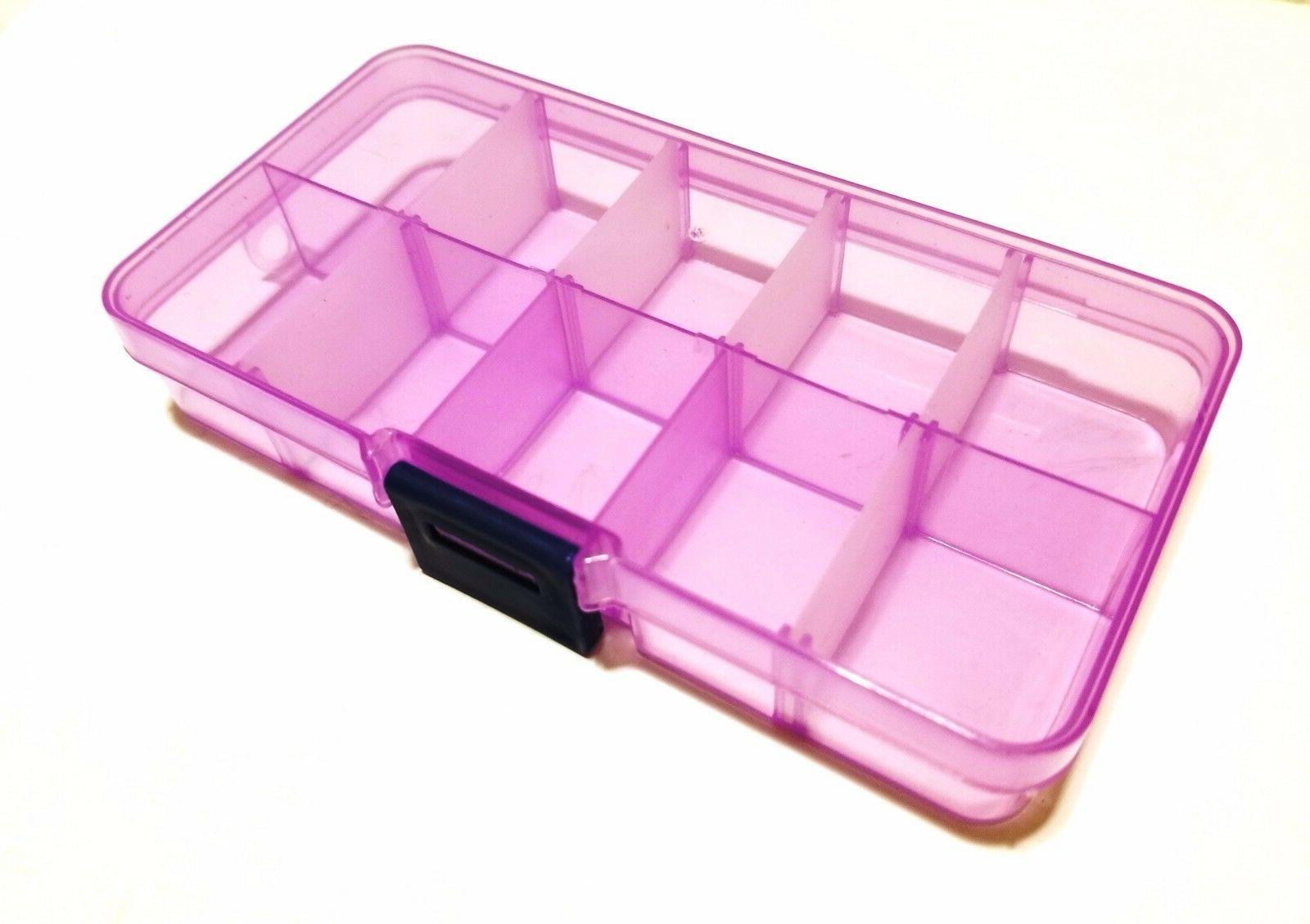 Adjustable Storage Box Jewelry Bead Container