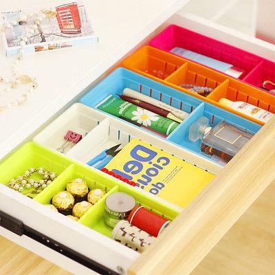 adjustable new drawer organizer home kitchen board