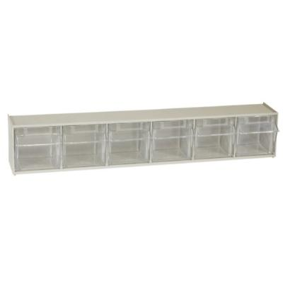 akro mils 06706 tiltview horizontal plastic storage