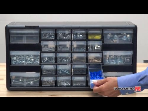 Akro-Mils 16 Plastic Parts Storage Hardware and