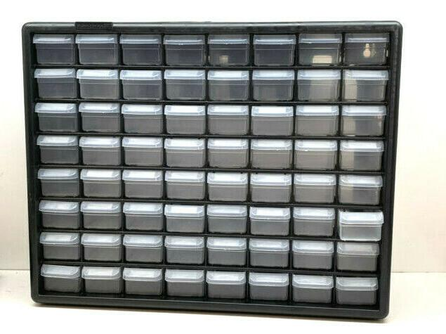 akro mils 10764 64 drawer plastic parts