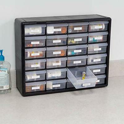 Akro-Mils 24 10124 Plastic Storage and Craft Cabinet