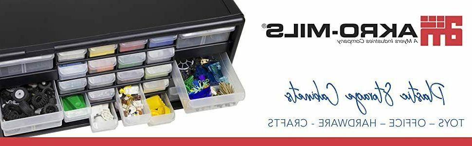 Akro-Mils 26 Plastic Hardware and Craft (20