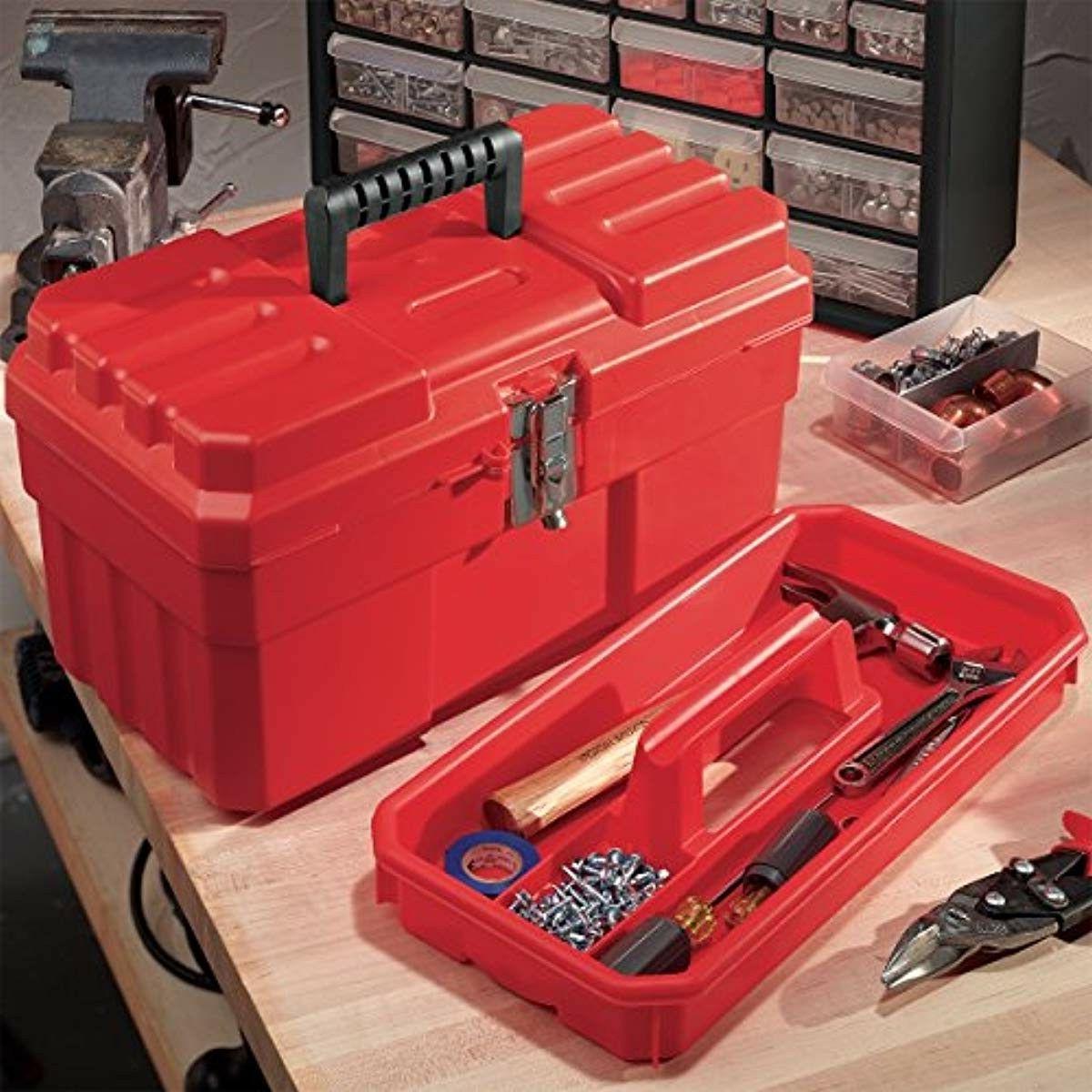 Akro-Mils 9514 ProBox Plastic Tool Box,