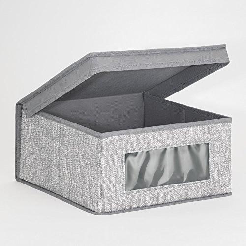 InterDesign Storage Organizer Clothing, Shoes, - Gray