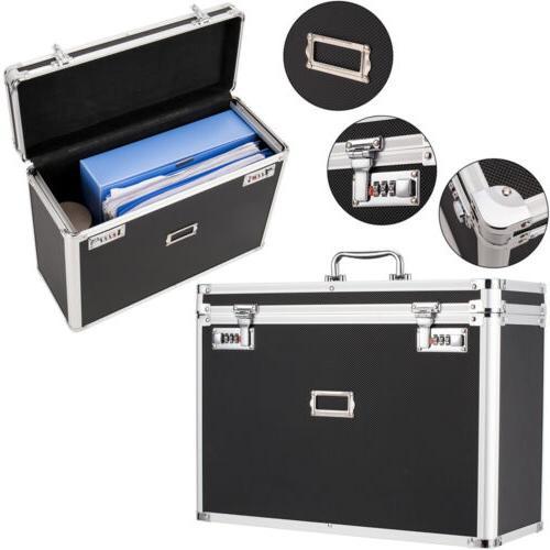 Aluminum File Tote for Documents Box