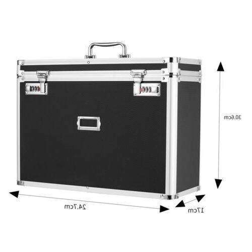 Aluminum Tote Documents Storage Box