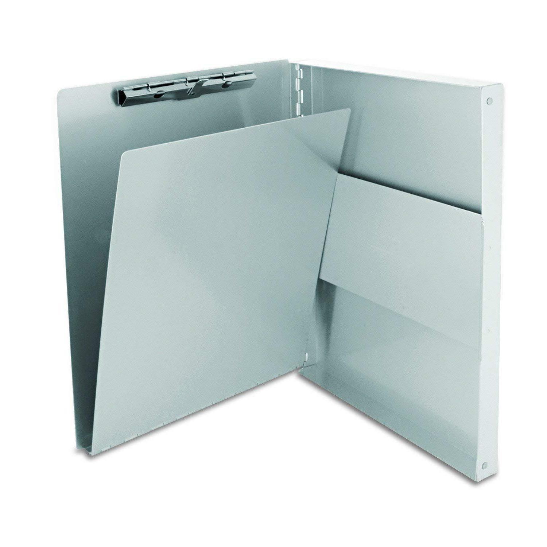 Aluminum Storage Clipboard Letter Office Document Paper Box