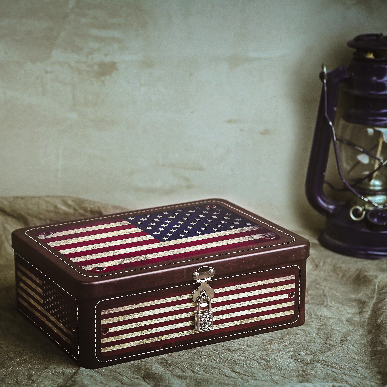 American Storage Box Metal Organizer