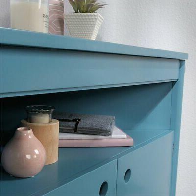 Sauder Anda Storage Blue