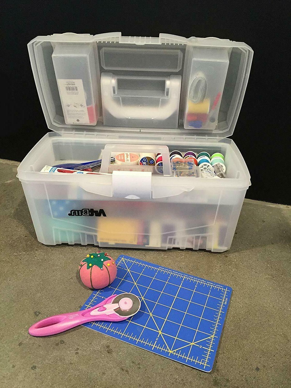 ArtBin 6918AH Inch Supply Storage Box, Clear