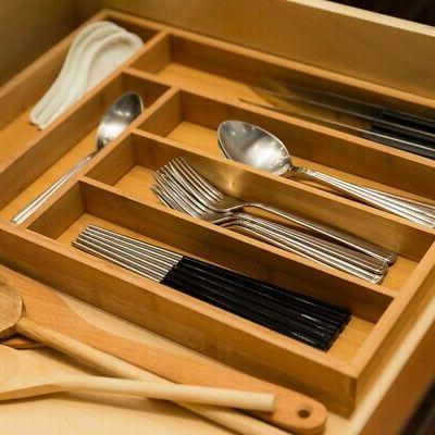 Bamboo Storage Box Accessories Organizer Wood Storage
