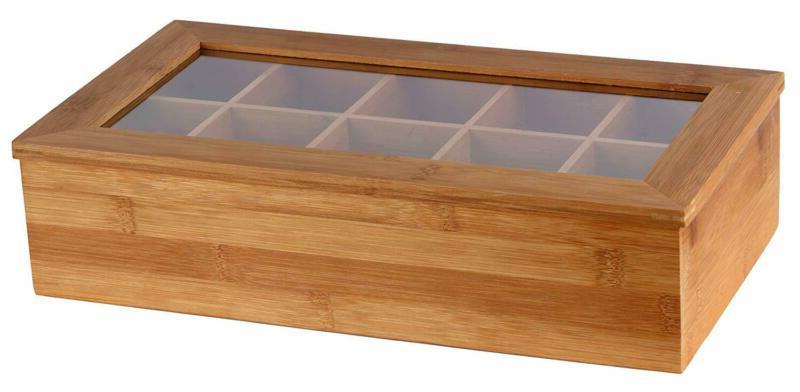 Estilo Box, 10 Equally Divided Compartments