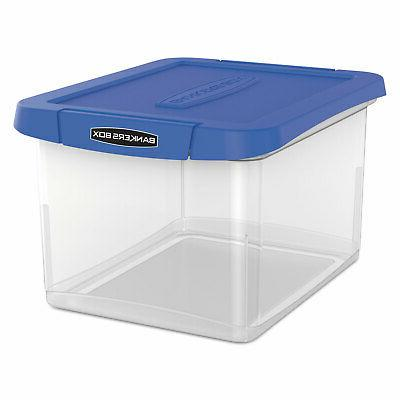 Fellowes Bankers Box Heavy-duty Portable File Box 0086301