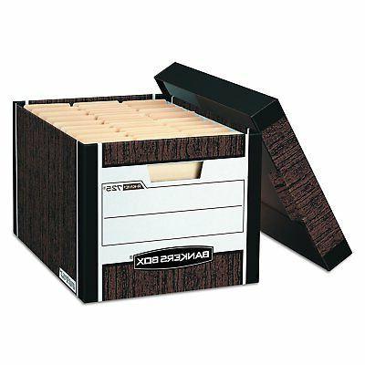 Bankers Box R-Kive Heavy-Duty Storage Boxes, Letter/Legal, W