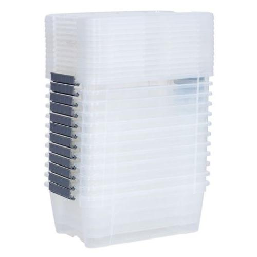 12 144 Clear Latch Storage Container With