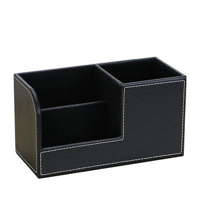 Bedroom Storage PU Leather Case Office Stationery