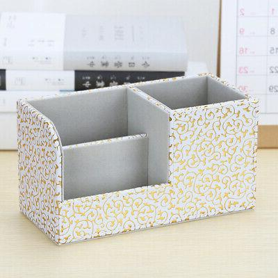 Multifunction Case Bedroom Office Stationery PU