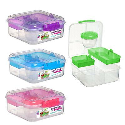 bento cube food storage container balance portion