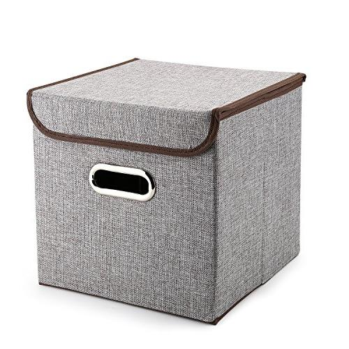MEÉLIFE Storage Boxes Fabric Cubes Containers & for Nursery Shelf