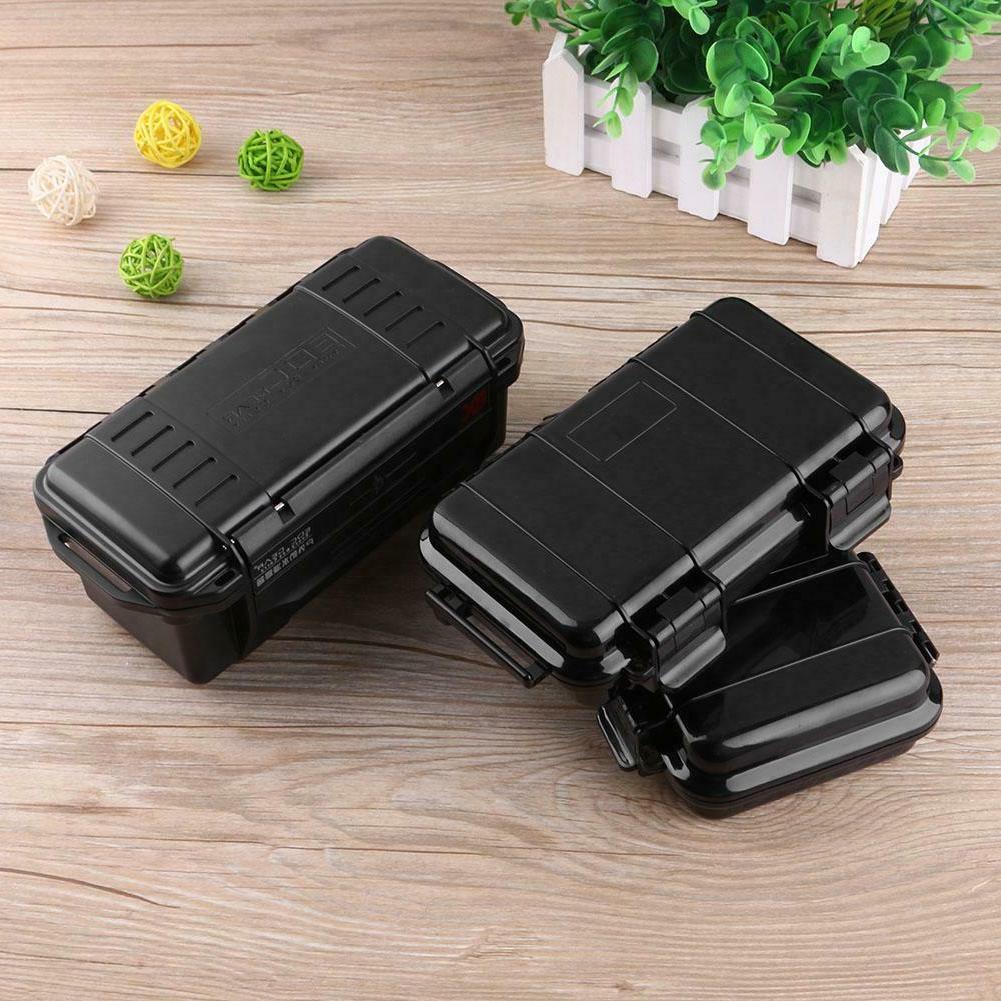 Black Shockproof Waterproof Case Dry