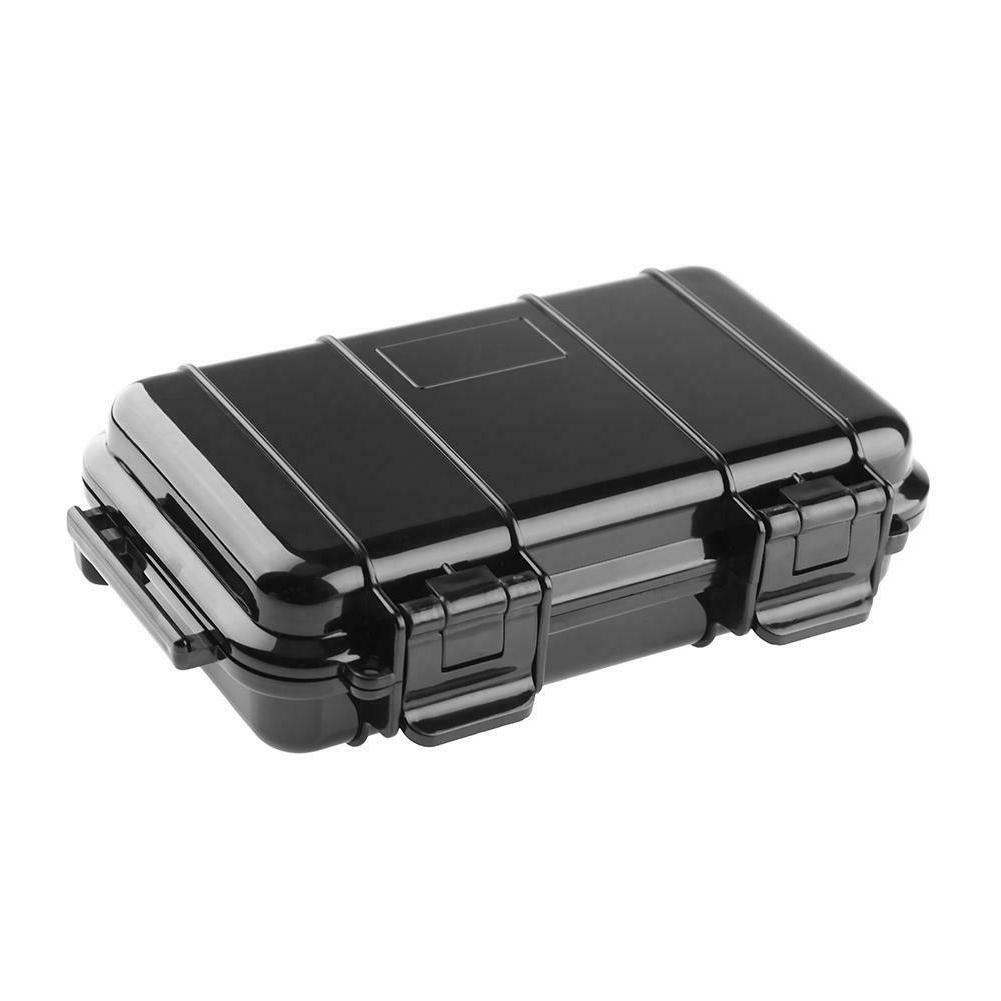 Black ABS Shockproof Storage Case Dry