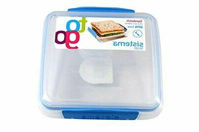 bpa free reusable food storage sandwich container