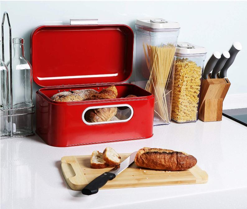 Bread Large Juvale Counter Organizer Storage
