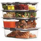 Rubbermaid Brilliance 18-piece Food Storage Set Stain & Odor
