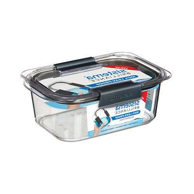 brilliance container 920ml leakproof storage box microwaveab