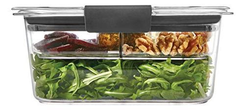 brilliance salad lunch storage container