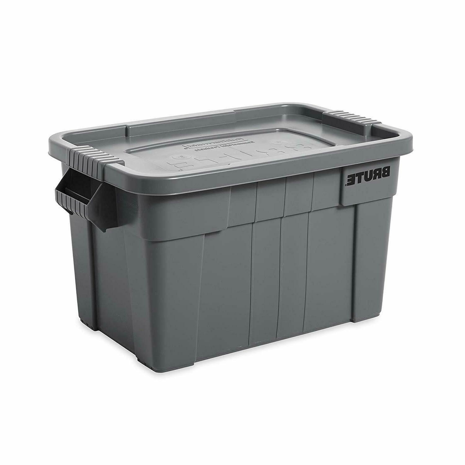 brute tote storage container with lid 20