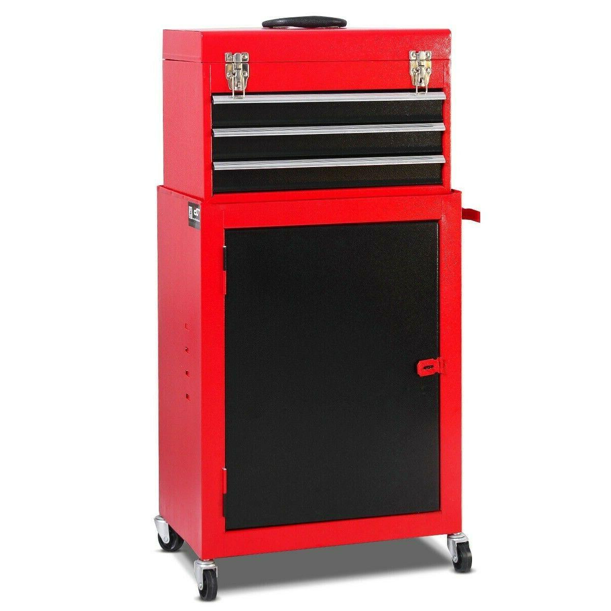 Cabinet Storage 2 piece Mini Tool and Garage Organizer