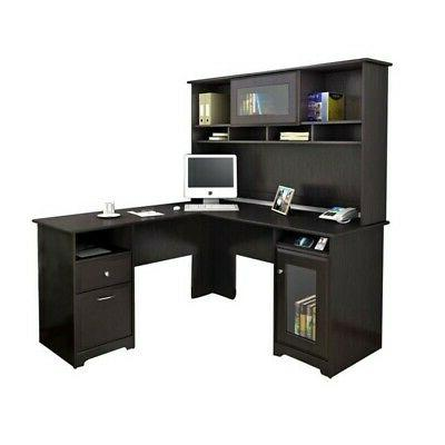 Computer with in Espresso Oak