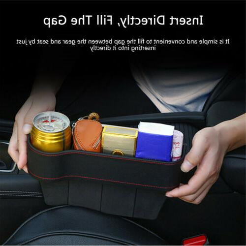 Car Crevice Storage Drink Auto Pocket Organizer
