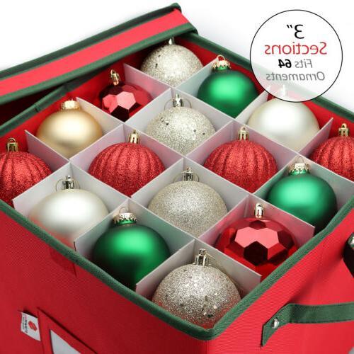 Christmas 64 Balls Heavy Polyester