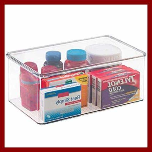Interdesign Clarity Box Lid Container