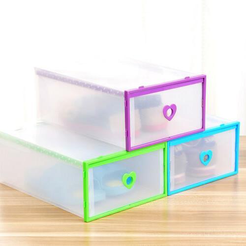Clear Box Storage Foldable Wardrobe