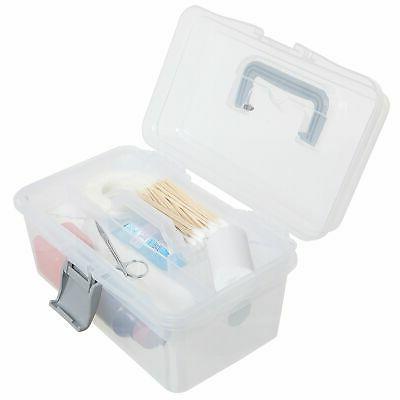 MyGift Clear First Aid, & Craft Case/Storage