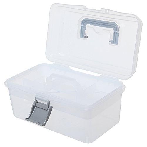 MyGift Multipurpose First Arts Craft Case/Storage Container Box