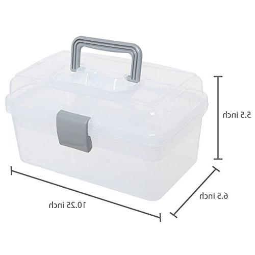 MyGift First Arts Craft Supply Box w/Removable