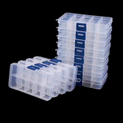 Juvale Box - 12-Pack Plastic Storage Container,